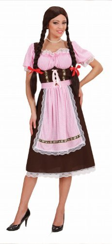 [Ladies Heavy Fabric Bavarian Woman Costume Large UK 14-16 for Regency 17th 18th Century Fancy Dress by] (18th Century Costumes Uk)