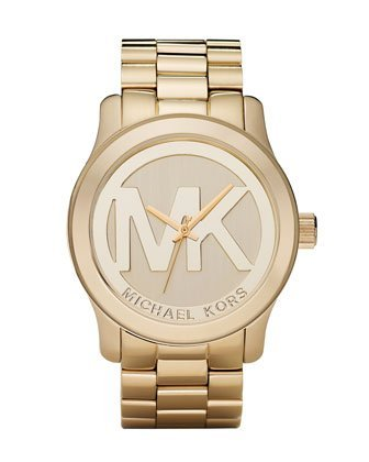 Michael Kors Quartz Goldtone Bracelet Champagne Dial Women's Watch MK5473