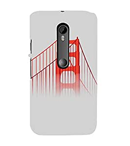 PrintVisa Travel San Francisco Bridge Design 3D Hard Polycarbonate Designer Back Case Cover for Motorola Moto G3
