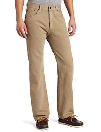 Levi's Men's 501 Original Fit Jean, Timberwolf, 29x32