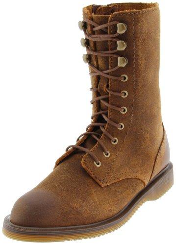 Dr Martens Women's Carli Dark Brown Lace Up Boot 14100201 8 UK