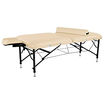 "Master Massage 30"" Calypso Ultra-Light LX Massage Table Package 25 lbs Only"