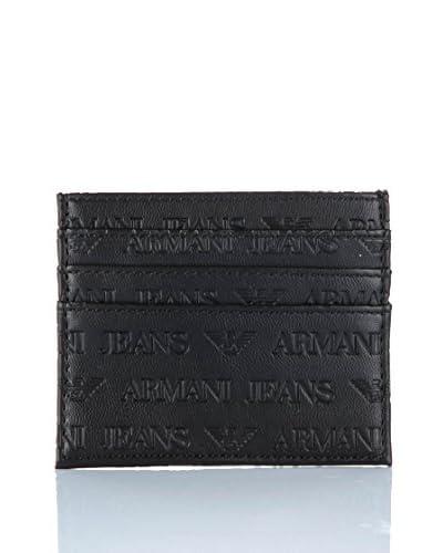 Armani Jeans Portacarte 06V70-V7 12 [Nero]