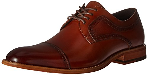 Stacy Adams Men's Dickinson Cap Toe Oxford, Cognac, 10.5 M US (Leather Dress Shoes Men compare prices)
