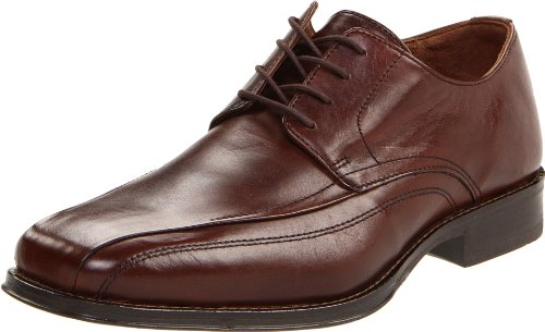 Johnston & Murphy Men's Harding Panel Toe Oxford,Dark Brown,12 M