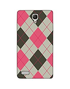 Dukancart Patterns and Ethnic Multicolor Back Cover for Redmi Note 4 Dcrmn40075