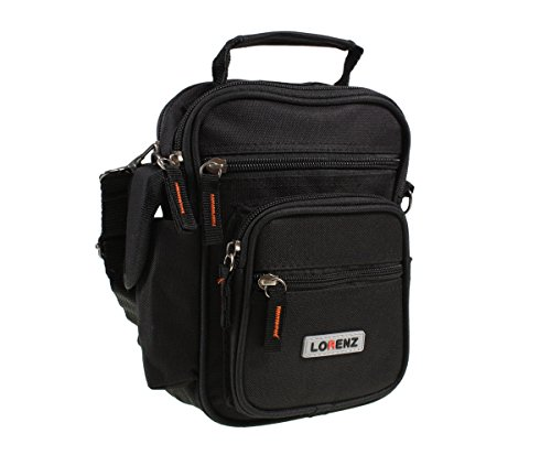 Unisex Small Black Polyester Travel Organiser