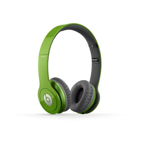 Beats BT ON SOLOHD | Solo HD On-Ear Headphone (Green 900-00062-01)