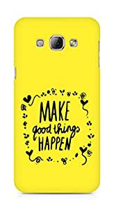 AMEZ make good things happen Back Cover For Samsung Galaxy A8