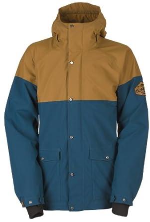 Buy Bonfire Tanner Snowboard Jacket Midnight Driftwood Mens Sz M by Bonfire