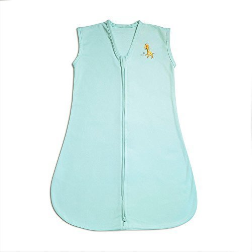 BreathableBaby Breathablesack Wearable Blanket Applique, Aqua Mist/Giraffe, Small