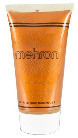 Mehron Fantasy FX Face Painting Make Up, Copper, 1 oz