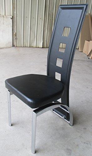 Calabaza designer esstisch set black edition esszimmer set for Designer glastisch esstisch
