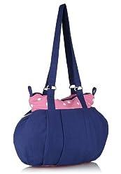 Home Heart Womens Hobo Bag (Blue) (3162)