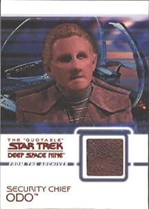 Quotable Star Trek Deep Space Nine C16 Odo Costume Card Brown Variant