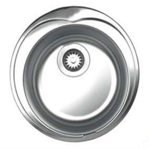 Whnda16-Bss Drop In Stainless Steel 20X20X6.50 0-Hole Single Bowl Prep Sink In Brushed Stainless Steel - Kitchen Sink-Yow