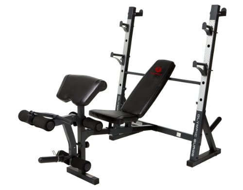 Marcy Diamond Md 857 Olympic Surge Bench front-810494