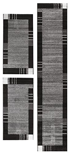 andiamo-725561-web-grasse-bed-border-rug-100-polypropylene-grey-340-x-67-x-07-cm