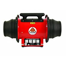 "Air Systems SVF-10EXP 10"" Explosion-proof Electric In-Line Axial Blower For Running Long Lengths Of Ventilation Ducting"