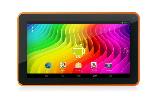 Easypix SmartPad EP772 NEO Mango 17.78 cm (7 Zoll) Tablet-PC (Rockchip RK3168 Cortex A9, DualCore, 1,2GHz, 1GB RAM, 8GB HDD, SGX 540 GPU, Android Touchscreen OS) orange