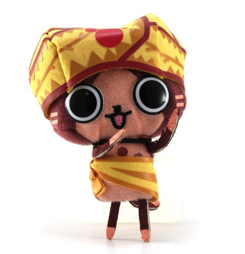 Banpresto Monster Hunter 2011 Plush Strap: Turban Airu - 1