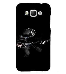 PrintVisa Man Playing Guitar Music 3D Hard Polycarbonate Designer Back Case Cover for Samsung Galaxy Grand 3