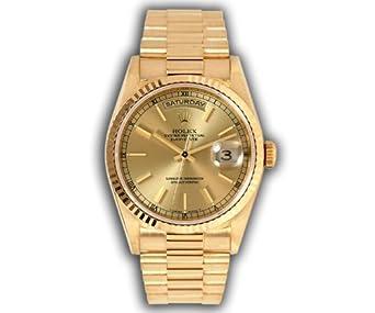 Rolex President 18KT Yellow Gold Mens Watch