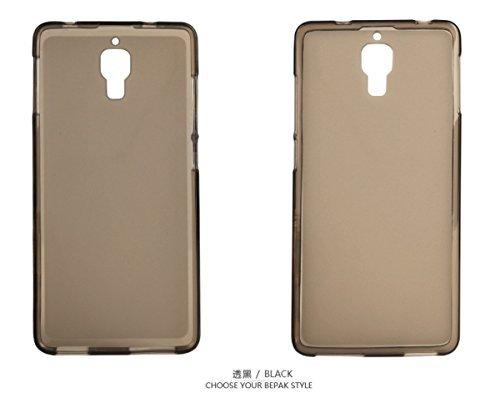 Best Deals - Brand New Premium Quality Xiaomi Mi4 Silicon Soft Back Cover Case-Dark Grey