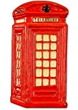 Red Traditional British English Telephone Box Fridge Magnet London Souvenir Gift