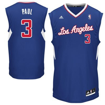 Chris Paul Los Angeles Clippers Blue 2014-15 NBA Youth Revolution 30 Replica Jersey