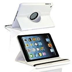2010kharido 360 Rotating PU Leather Case Cover For Apple ipad Mini 7.9