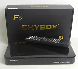 Original Black SKYBOX F5 HD GPRS Satellite Receiver + Free HDMI Cable + UK Plug + Ch list