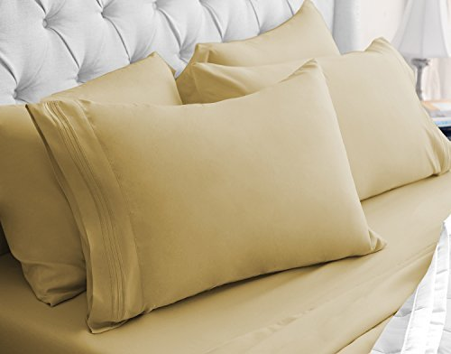 luxor-linens-egyptian-comfort-6-piece-sheet-set-king-gold-by-luxor-linens
