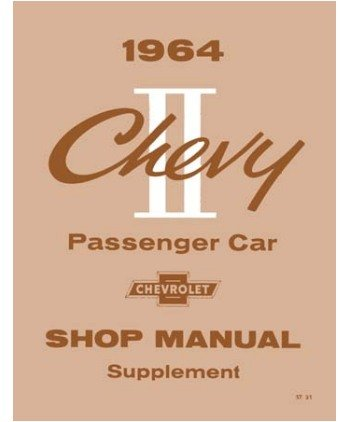 1964 Chevrolet Chevy Ii Shop Service Repair Manual Book