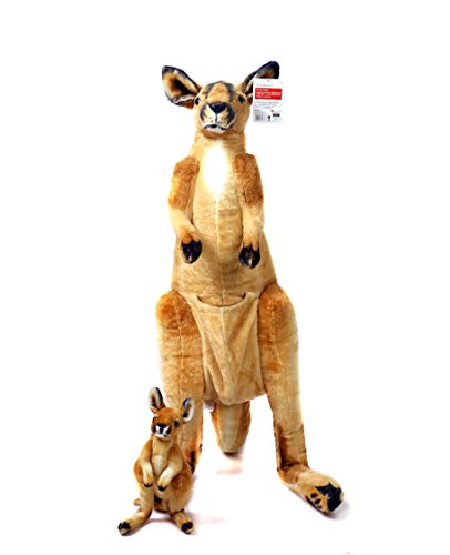 Melissa And Doug Toys Review Viahart 3 Foot Giant Kangaroo Stuffed