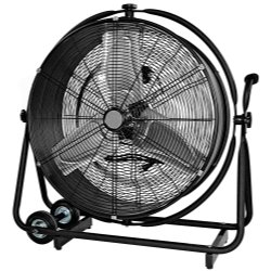 Mountain MTN5024 24″ Drum Fan That Moves Vertically And Horizontall