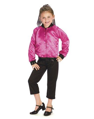 T-Bird Sweetie Costume Girl - Child 12-14 (Fifties Thunderbird Jacket Child Costume)