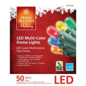 LED Multi-color Christmas Lights