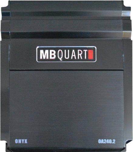 Mb Quart Oa240.2 240-Watt 2-Channel Onyx Series Car Audio Amplifier