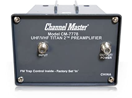 Channel Master CM 7778 Titan 2 Medium Gain Mast Mounted