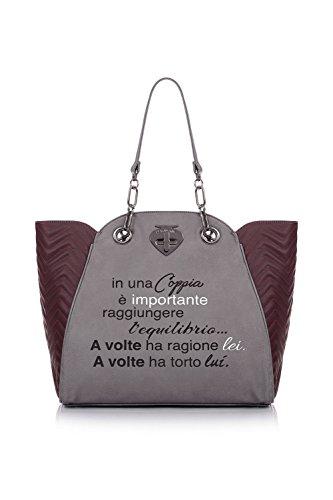 Borsa Shopping | Le Pandorine New Classic | Coppia Matelasse | A/I 2016-17 | AI16DAA01930-Matelasse Grey