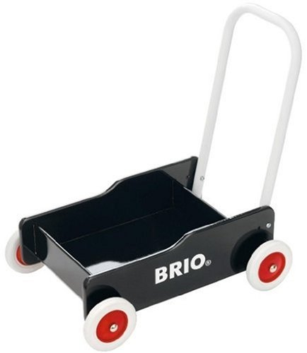 BRIO 31351 Wooden Toys: Black Toddler Wobbler