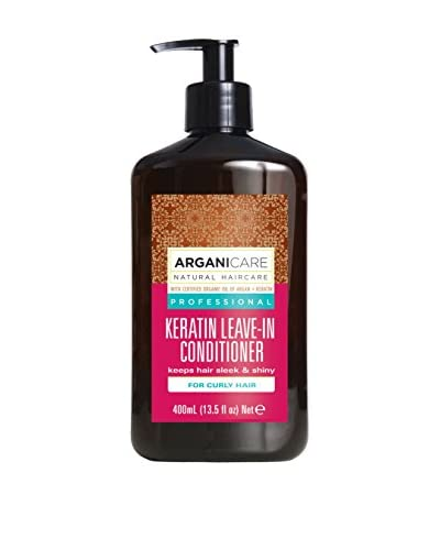 ARGANICARE Bálsamo Capilar Sin Aclarado Keratin For Curly Hair 400 ml