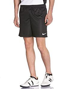 NIKE Herren Fussballshorts Park Knit No Brief, Black/White, L, 448224-010