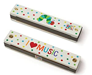 Kids Preferred World of Eric Carle, The Very Hungry Caterpillar Harmonica by Kids Preferred