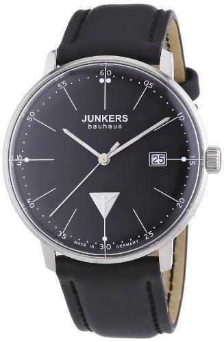 Junkers 60702 - Orologio da polso uomo, pelle, colore: nero