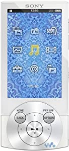 Sony NWZ-A845W MP3/ Video Player 16 GB (7 cm (2,8 Zoll) OLED-Display, Sprach-lern-Modus, Easy-Rewind, USB 2.0) weiß