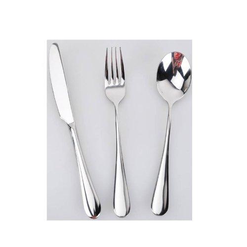 Stainless Steel Tableware Western Knife And Fork Spoon