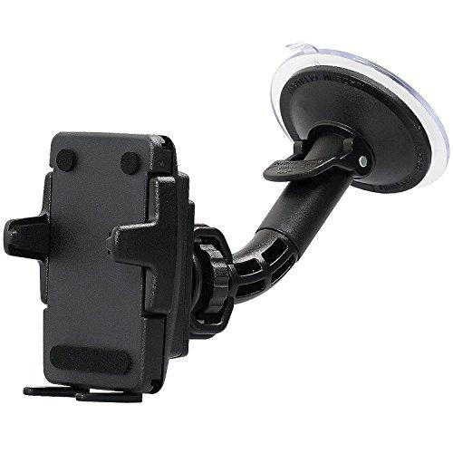 KFZ-Halterung für Handy und Smartphone  Made in Germany  universell für Geräte von 46-76 mm Breite  kompatibel mit Bumper  Hülle  Case
