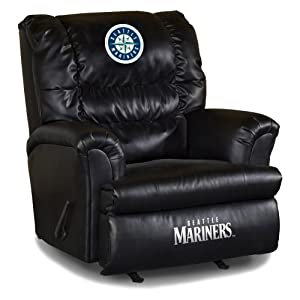 Buy MLB Seattle Mariners Big Daddy Leather Recliner by Imperial